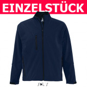 46600 - Men´s Softshell Jacket Relax SOL´S *Gr. L - Navy*