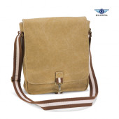 QD611 - Vintage Canvas Messenger Quadra