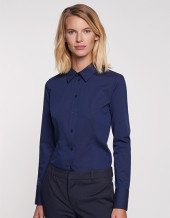 SN080604 - Women`s Blouse Modern Fit Longsleeve