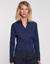 SN080613 - Women`s Blouse Slim Fit Longsleeve