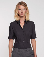SN080614 - Women`s Blouse Slim Fit Shortsleeve