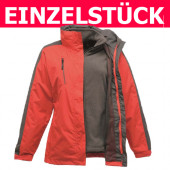 TRA141 - Ladies Chadwick Breathable 3-In-1 Jacket Regatta *Gr. 36 - Rot/Grau*