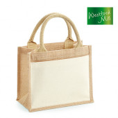 WM425 - Cotton Pocket Jute Gift Bag