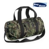 BG173 - Camo Barrel Bag