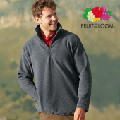 F820 - Half-Zip Fleece - Fruit of the Loom