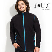 L827 - Micro Fleece Zipped Jacket Nova Men - Sol´s