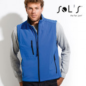 L846 - Mens Sleeveless Softshell Rallye