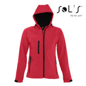 L849 - Womens Hooded Softshell Jacket Replay