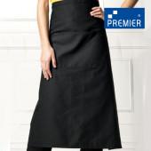 PW06 - Barschürze lang mit Tasche (Premier Workwear)