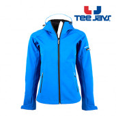 TJ9554 - Ladies Hooded Fashion Softshell Jacket