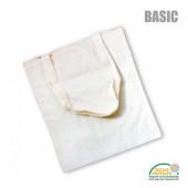 XT104 - Baumwolltasche BASIC *natur* mit langen Henkeln