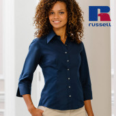 Z954F - Ladies` 3/4 Sleeve Fitted Tencel® Shirt