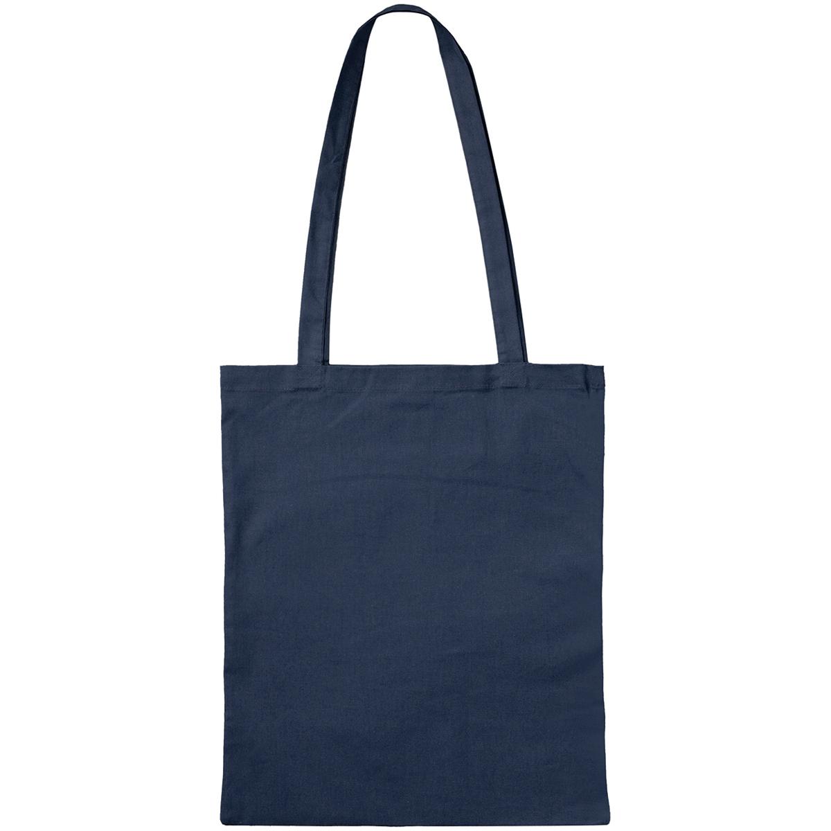 3842LOG - Bio-Baumwoll-Tasche mit langen Henkeln