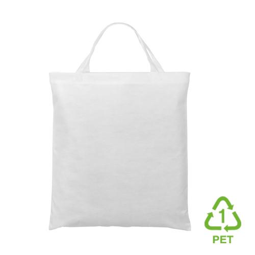 3842KPT - Recycling-Tasche mit zwei kurzen Henkeln