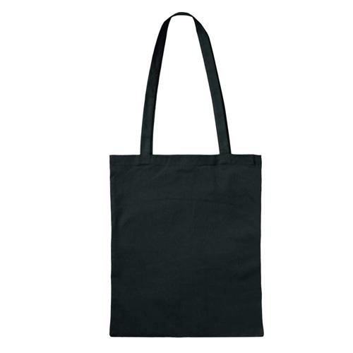 3842LE - Leichte Baumwolltasche BASIC mit zwei langen Henkeln *FARBIG*