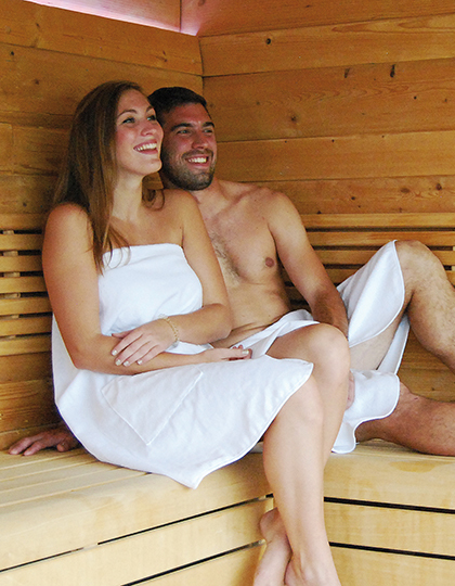 BD963 - Quick-Dry Sauna Kilt / Lady
