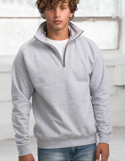JH046 - Sophomore 1/4 Zip Sweat Just Hoods