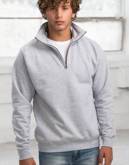 Sophomore 1/4 Zip Sweat Just Hoods - JH046