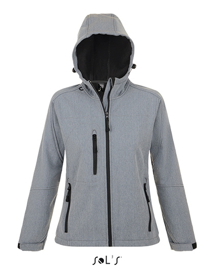 L849 - Women`s Hooded Softshell Jacket Replay
