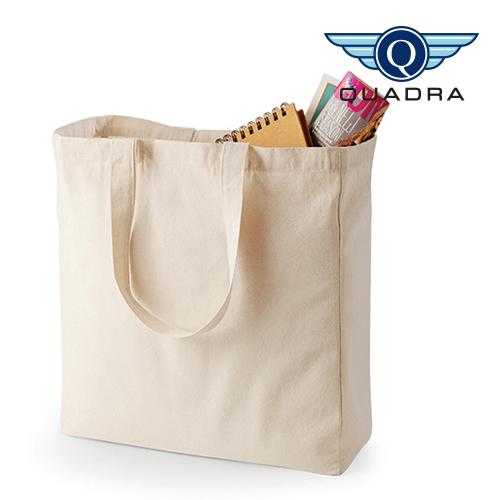 QD23_N - Canvas Classic Shopper Quadra