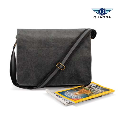QD610 - Vintage Canvas Despatch Bag Quadra