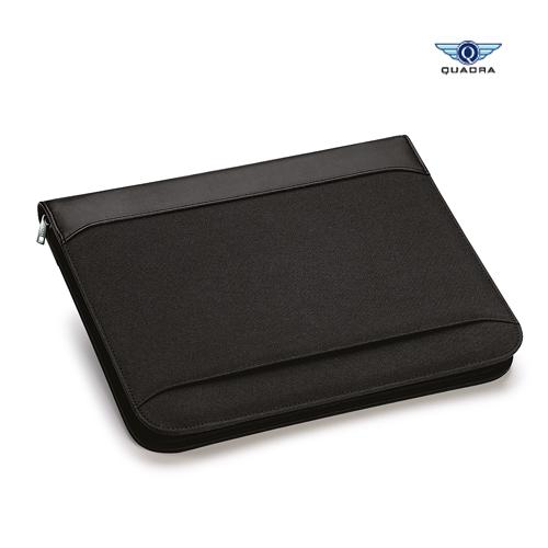 QD802 - Burbank™ Zipper Portfolio Quadra