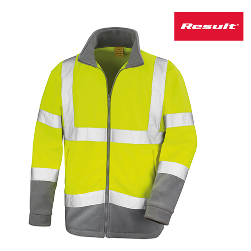 R329X - Safety Microfleece Jacket - Result