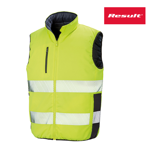 R332X - Reversible Soft Padded Safety Gilet - Warnschutzweste - Result
