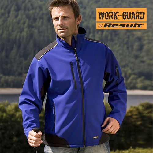 RT124 - Ripstop Softshell Work Jacket (Result WORK-GUARD)