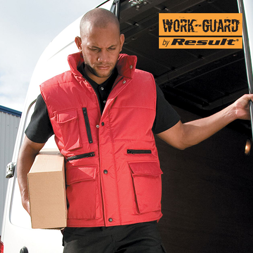 RT127 - Workguard™ Lance Bodywarmer (Result WORK-GUARD)