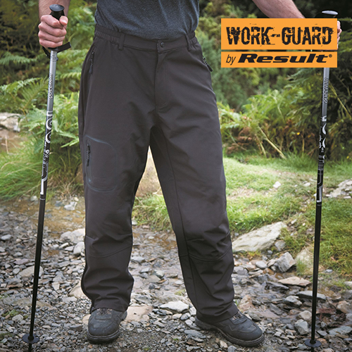 RT132X - Tech Performance Soft Shell Trouser (Result WORK-GUAR)