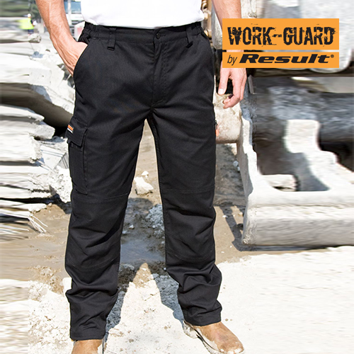 Sabre Stretch Trousers (Result WORK-GUARD) - RT303