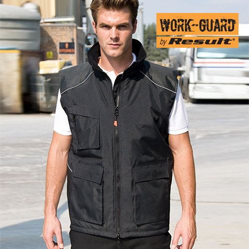 RT306 - Vostex Bodywarmer (Result WORK-GUARD)