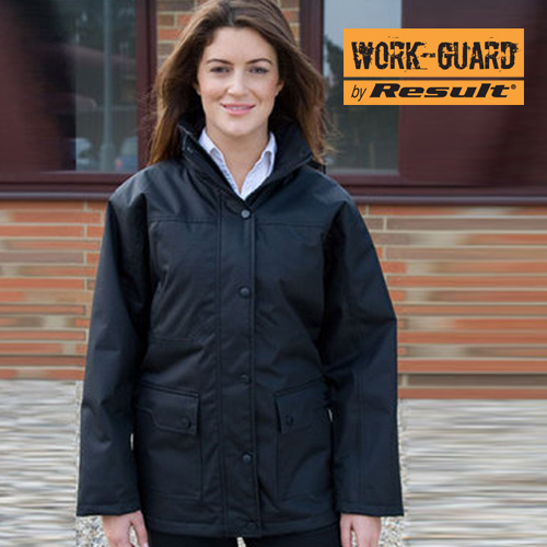 RT307F - Ladies Platinum Managers Jacket (Result WORK-GUARD)