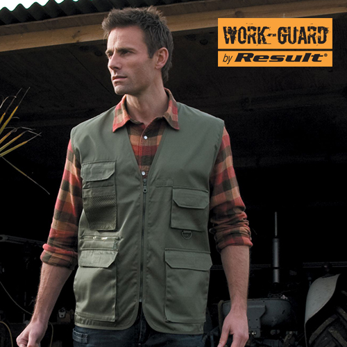 RT45 - Safari Vest (Result WORK-GUARD)