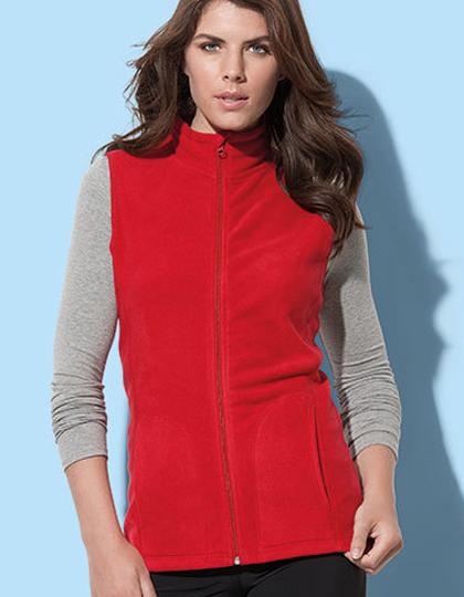 S5110 - Active Fleece Vest for women