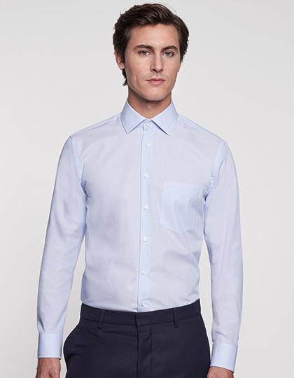 SN112810 - Men`s Shirt Modern Fit Check/Stripes Longsleeve