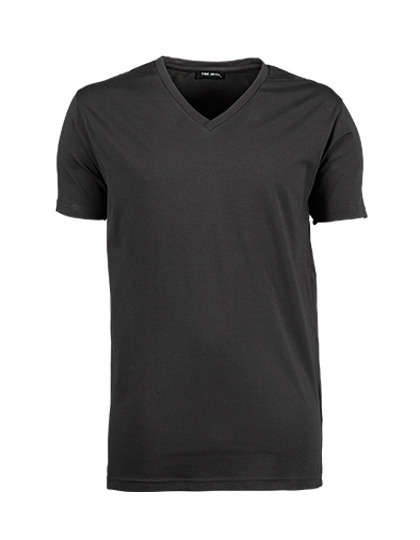 TJ401 - Stretch V-Neck Tee
