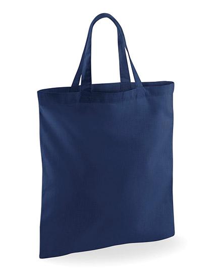 WM101S - Baumwolltasche mit kurzen Henkeln farbig