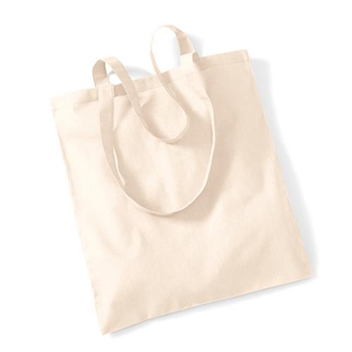 WM101_N - Baumwolltasche Promo Bag natur