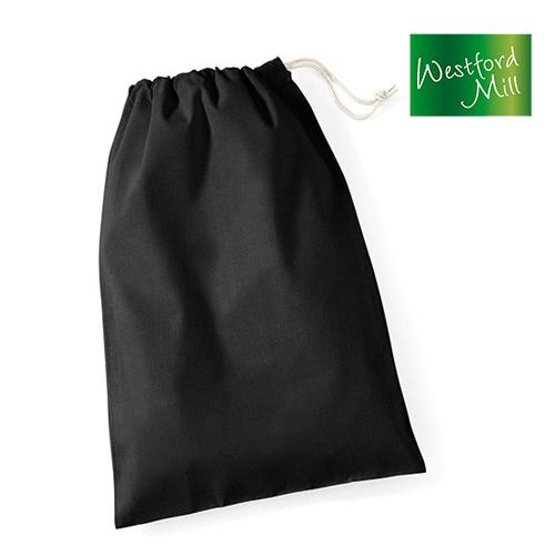 WM115S - Cotton Stuff Bag / Zuziehbeutel S (25 x 30 cm) Westford Mill