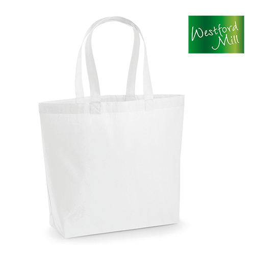 WM225 - Premium Cotton Maxi Bag 200 g/m² - Westford Mill