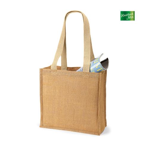 WM406 - Jute Shopper klein 10 l  Jutetasche