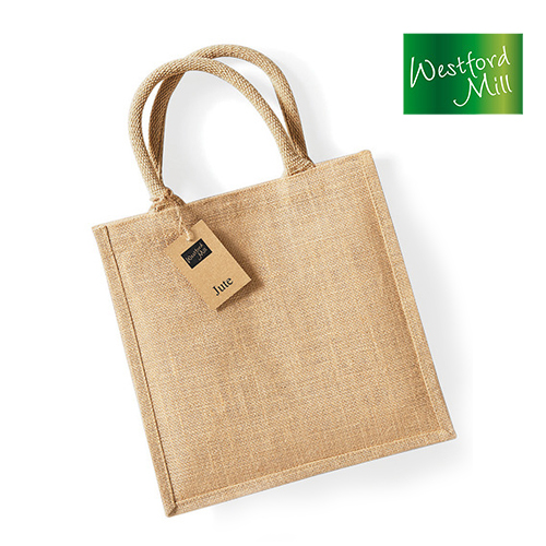 WM413-N - Jute Midi Tote Westford Mill
