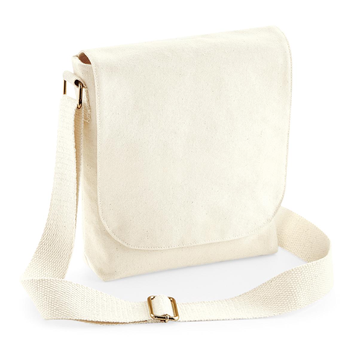 WM460 - Fairtrade Cotton Canvas Mini Messenger