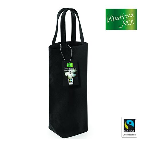 Fairtrade Cotton Bottle Bag - Westford Mill - WM620-S