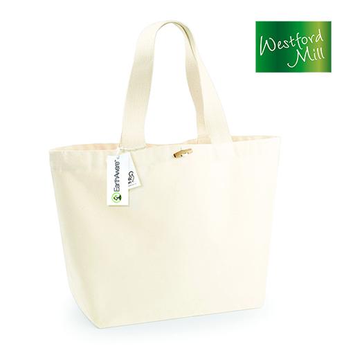 WM855_N - EarthAware™ Organic Marina Einkaufstasche XL