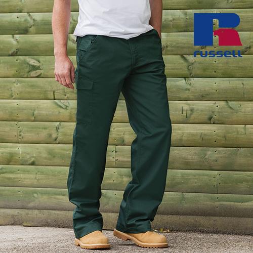 Z001 - Workwear-Hose aus Polyester-/Baumwoll-Twill (Russell)