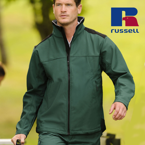 Z018 - Workwear Soft Shell Jacket (Russell)