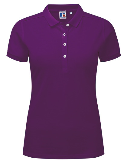 Z566F - Ladies` Fitted Stretch Polo